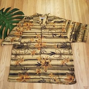 TOMMY BAHAMA BUTTON DOWN SHIRT SIZE L
